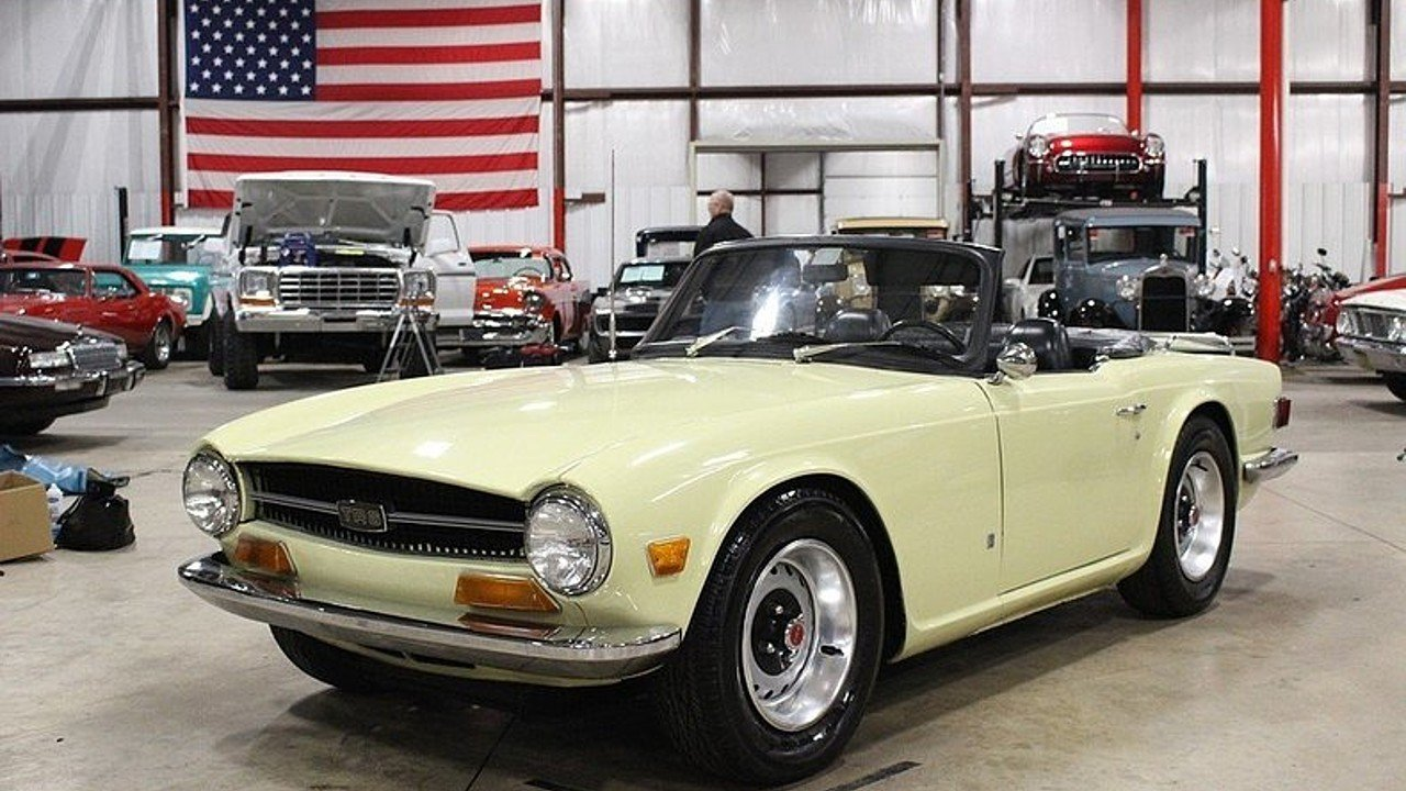 1971 Triumph TR6 for sale near Grand Rapids, Michigan 49512 ...