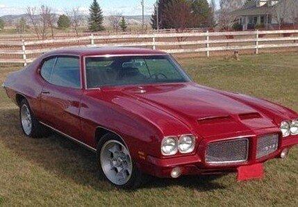 1971 pontiac GTO for sale 100974856
