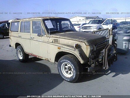 1971 toyota Land Cruiser for sale 101016250