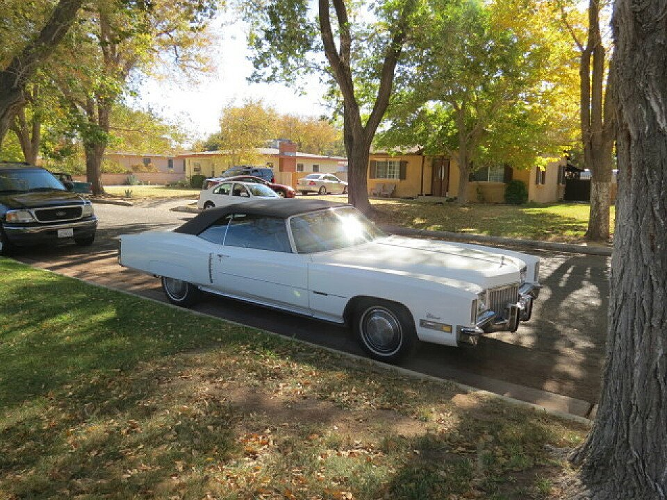 1972 Cadillac Eldorado for sale 100773260