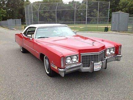 1972 Cadillac Eldorado for sale 100826616