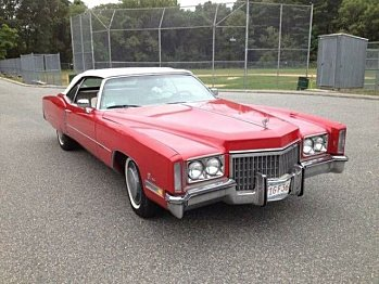 1972 Cadillac Eldorado for sale 100826616