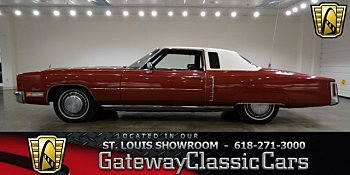 1972 Cadillac Eldorado for sale 100917904