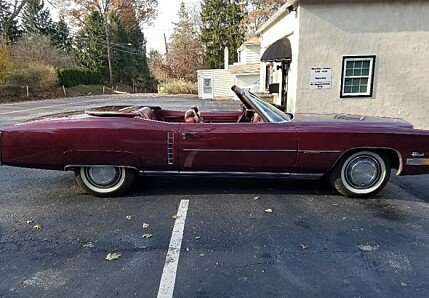 1972 Cadillac Eldorado for sale 100942609