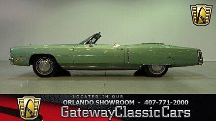 1972 Cadillac Eldorado for sale 100986419