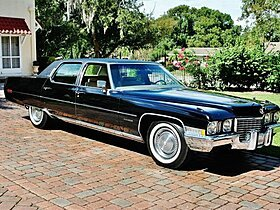 1972 Cadillac Fleetwood for sale 101046226