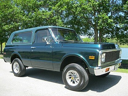 1972 Chevrolet Blazer for sale 100757890