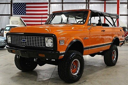 1972 Chevrolet Blazer for sale 100871405