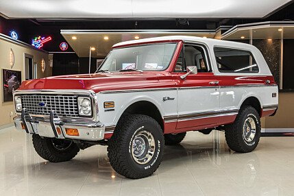1972 Chevrolet Blazer for sale 100871971