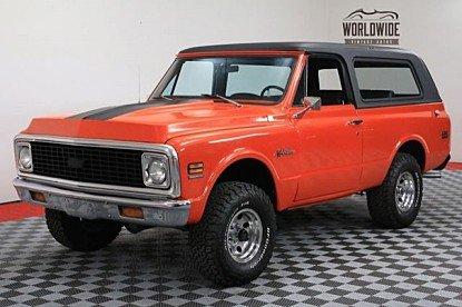 1972 Chevrolet Blazer for sale 100895317