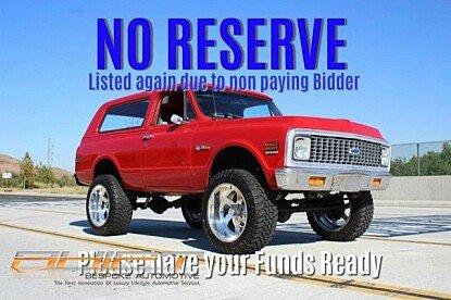 1972 Chevrolet Blazer for sale 100914108