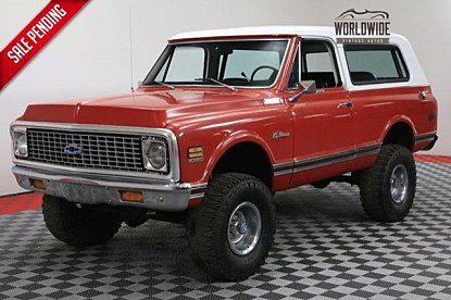 1972 Chevrolet Blazer for sale 100915095