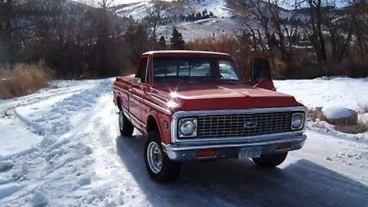 1972 Chevrolet C/K Truck for sale 100908192