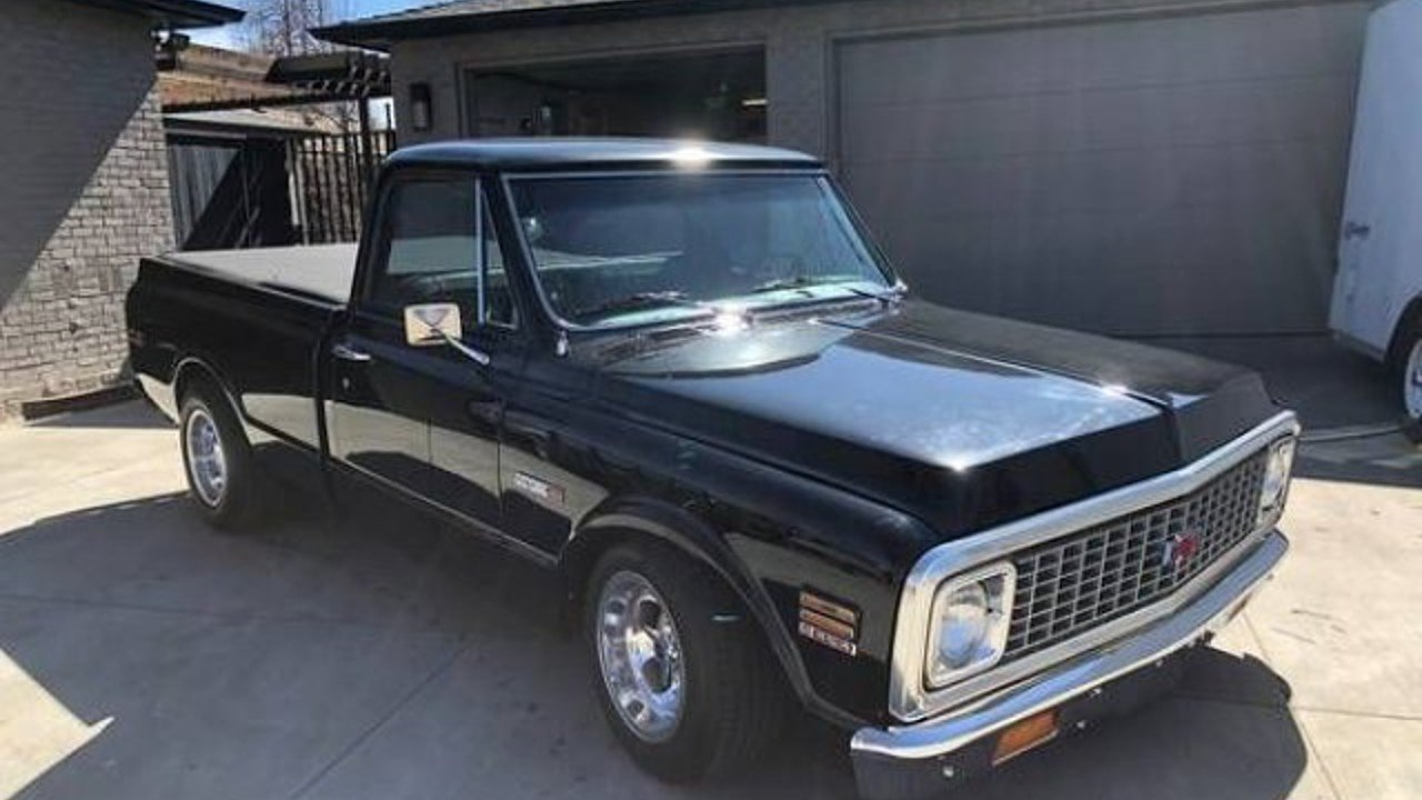 1972 Chevrolet C/K Truck for sale 100968120