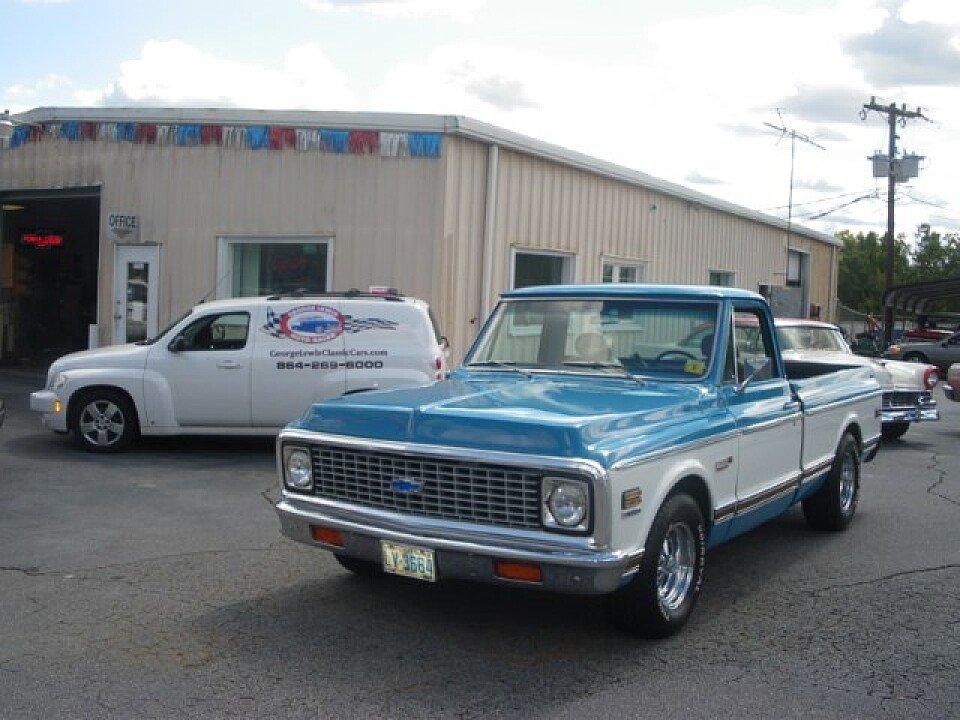 1972 chevrolet c k trucks for sale near greenville south carolina 29611 autotrader classics. Black Bedroom Furniture Sets. Home Design Ideas
