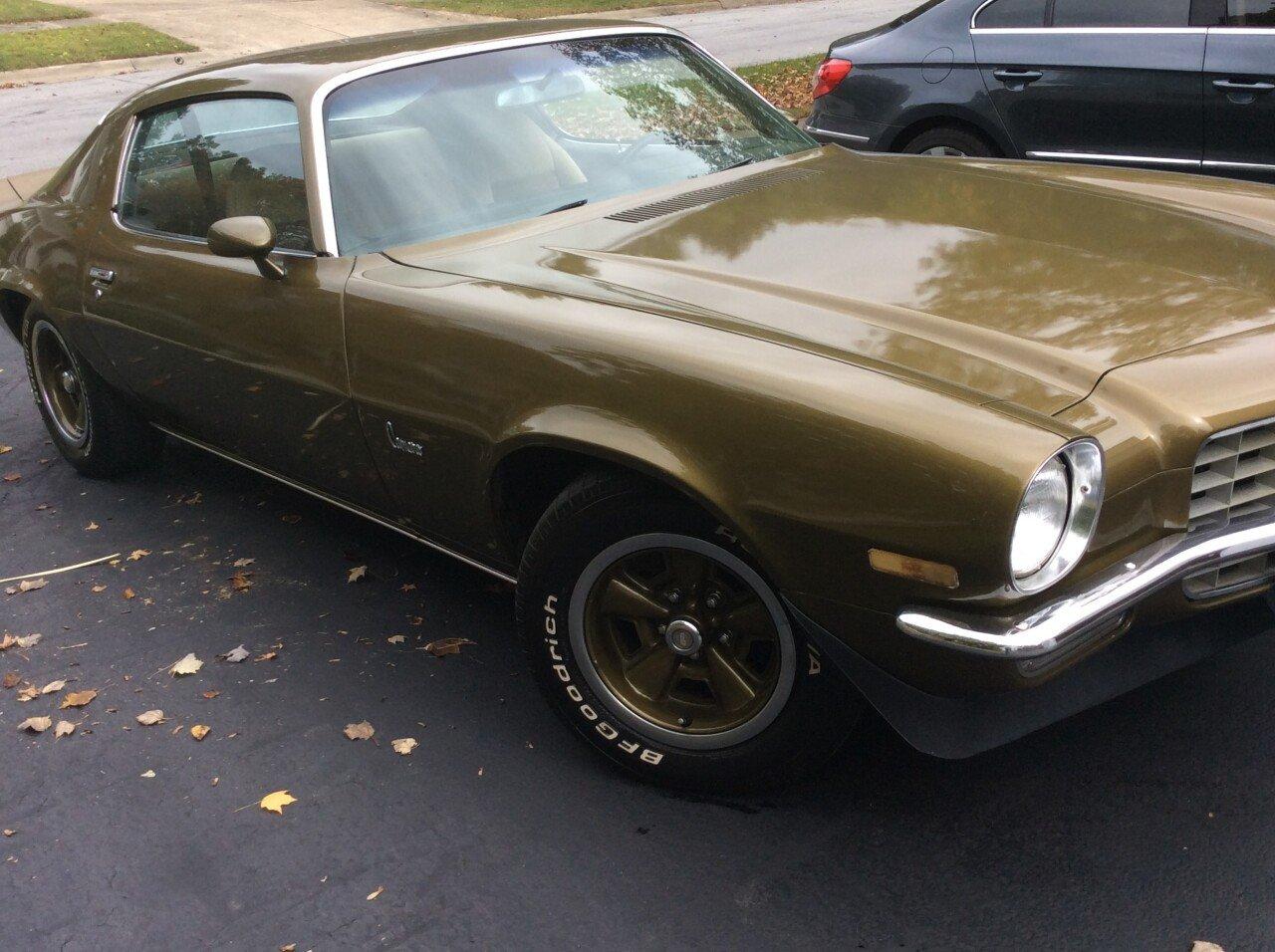 1972 Chevrolet Camaro For Sale Near Westerville Ohio