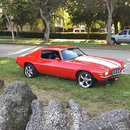 1972 Chevrolet Camaro for sale 100908197