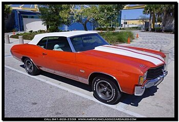 1972 Chevrolet Chevelle for sale 100770535