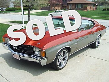1972 Chevrolet Chevelle for sale 100805897