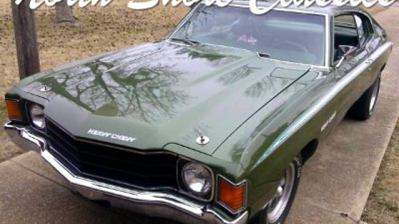 1972 Chevrolet Chevelle for sale 100842578