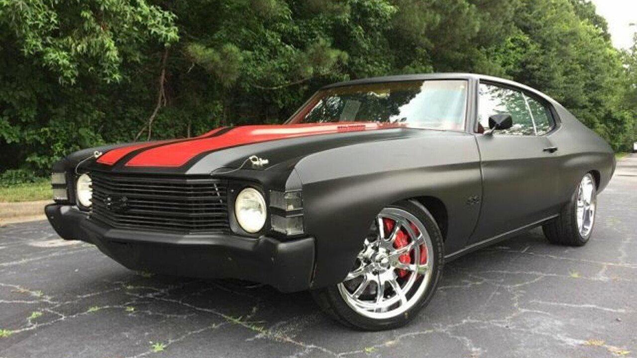 1972 Chevrolet Chevelle for sale 100976965