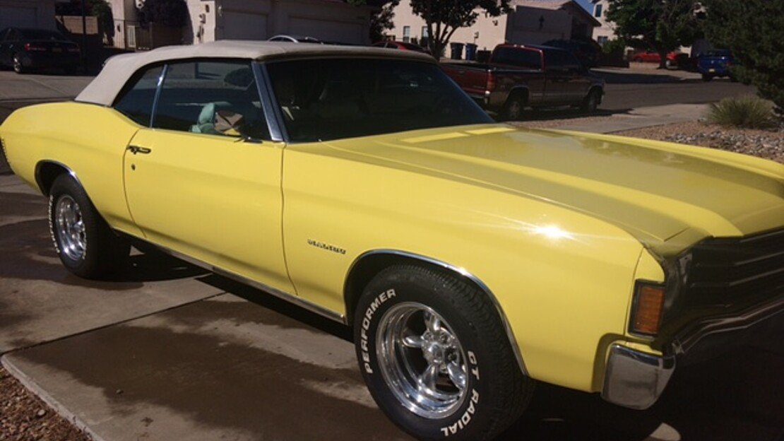 1972 Chevrolet Chevelle for sale 101038682