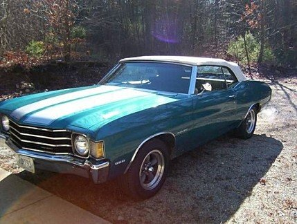 1972 Chevrolet Chevelle for sale 100826605