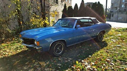 1972 Chevrolet Chevelle for sale 100848265