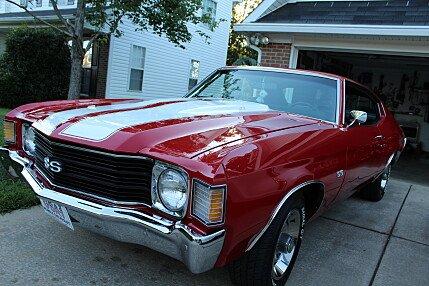 1972 Chevrolet Chevelle for sale 100909896