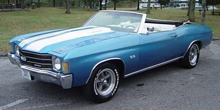 1972 Chevrolet Chevelle for sale 100923718
