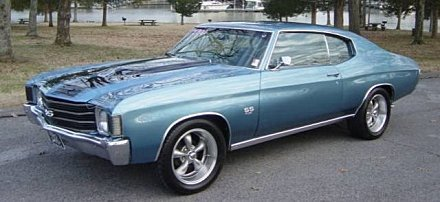 1972 Chevrolet Chevelle for sale 100945225