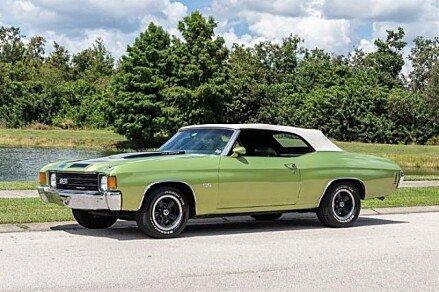 1972 Chevrolet Chevelle for sale 101025925