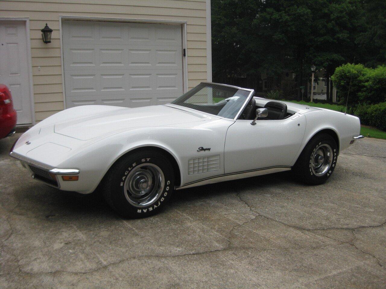 Classic Cars For Sale Auto Trader Com: 1972 Chevrolet Corvette For Sale Near Norcross, Georgia