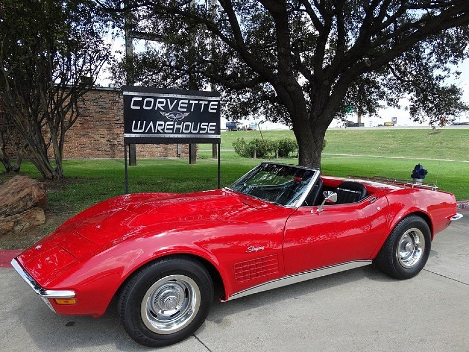 1972 chevrolet corvette convertible for sale near dallas texas 75220 autotrader classics. Black Bedroom Furniture Sets. Home Design Ideas