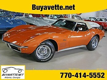 1972 Chevrolet Corvette for sale 100821602