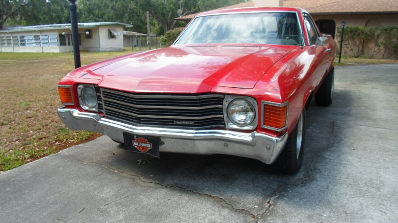 1972 Chevrolet El Camino V8 for sale 100975990