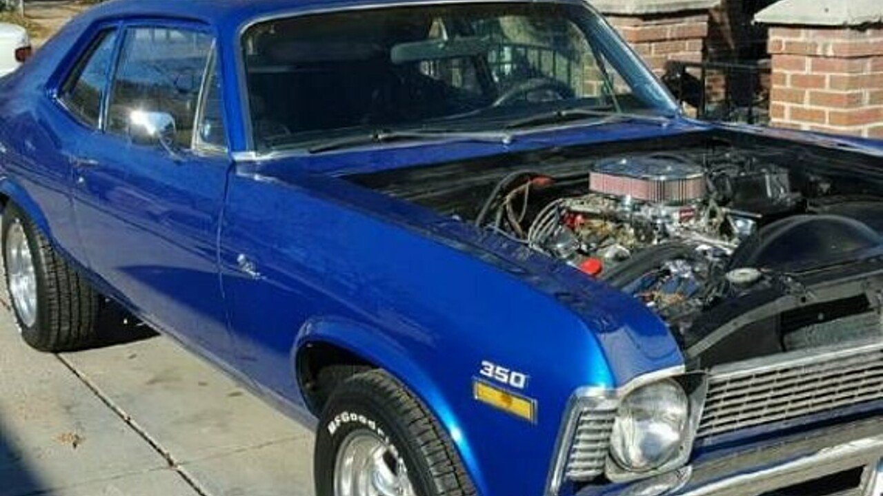1972 Chevrolet Nova for sale 100874328