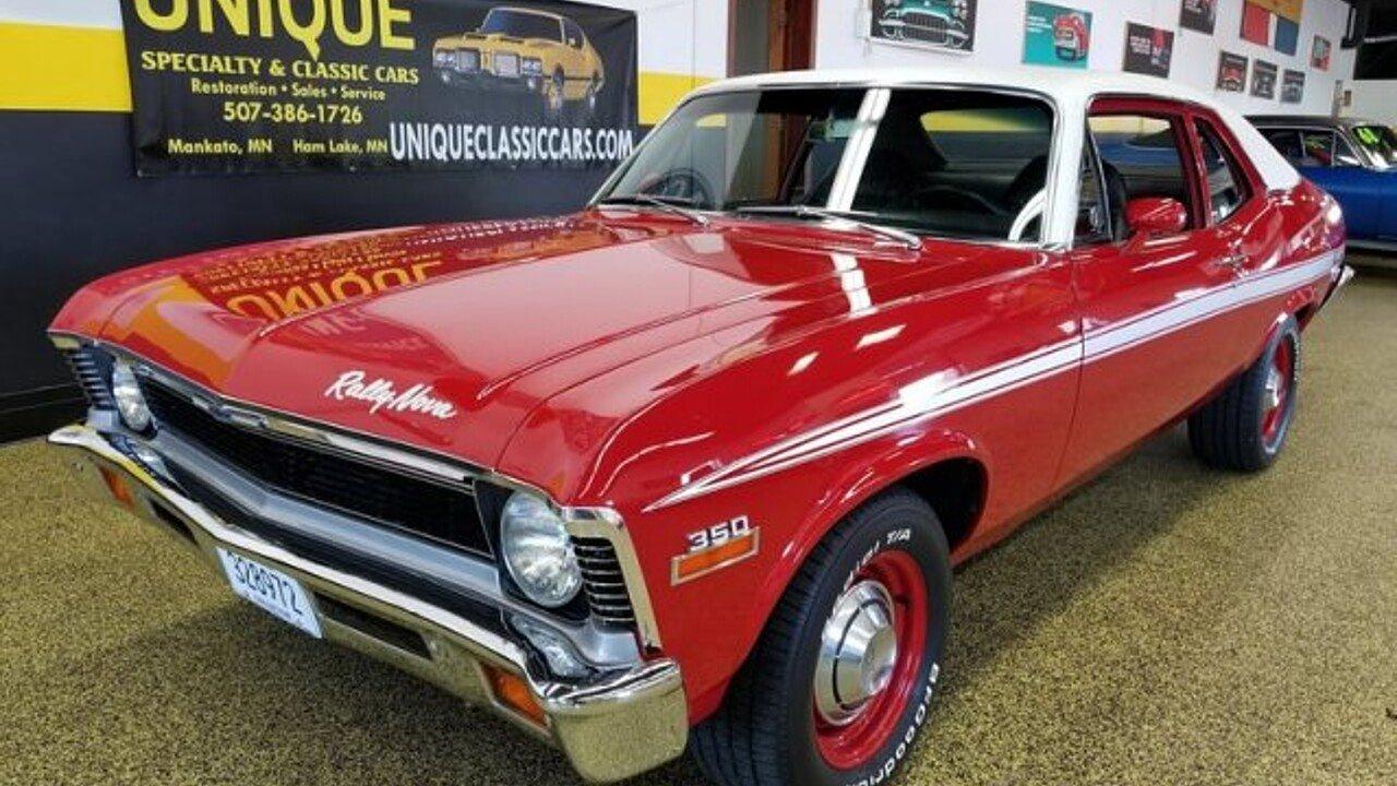 1972 Chevrolet Nova for sale near Mankato, Minnesota 56001 ...