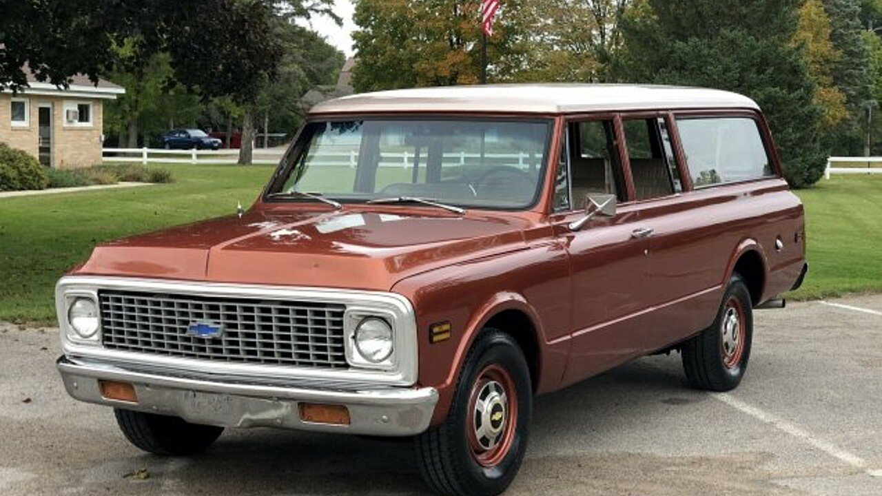 1972 Chevrolet Suburban for sale 101039654