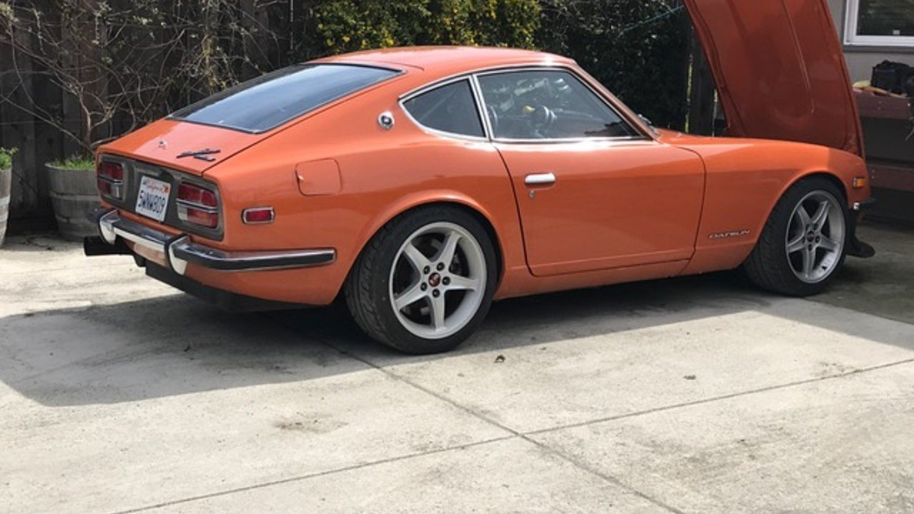 Datsun 240z classics for sale classics on autotrader 1972 datsun 240z vanachro Gallery