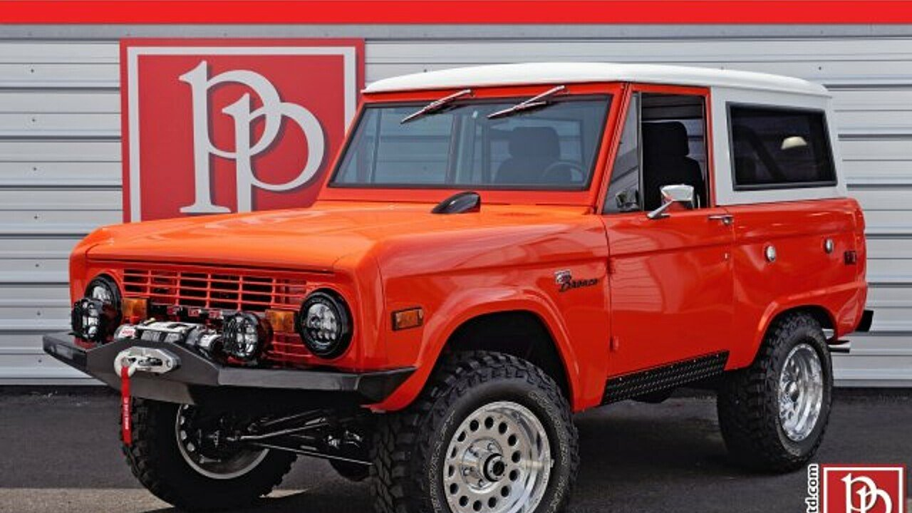 1972 Ford Bronco for sale 100873470