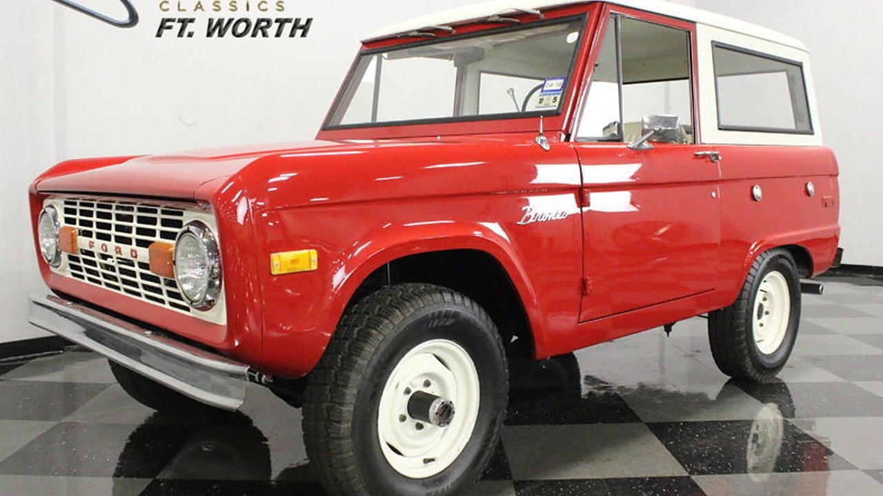 1972 Ford Bronco for sale 100873492