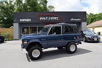 1972 Ford Bronco for sale 101001455