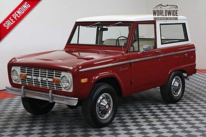 1972 Ford Bronco for sale 100911203