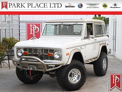 1972 Ford Bronco for sale 101012562