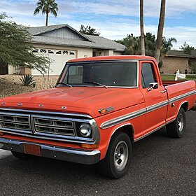 1972 Ford F100 2WD Regular Cab for sale 100760036