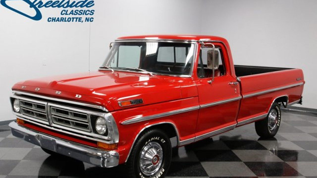 1972 Ford F100 Classics for Sale - Classics on Autotrader