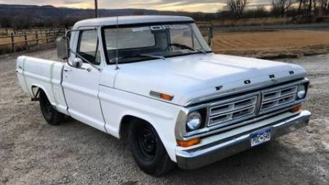 1972 Ford F100 for sale 100968112