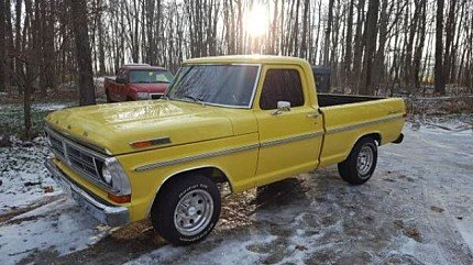 1972 Ford F100 for sale 100857290