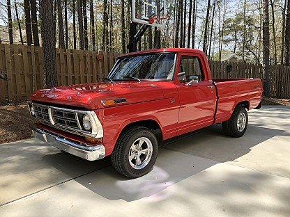 1972 Ford F100 2WD Regular Cab for sale 100977523